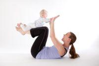 Mama en Baby Yoga