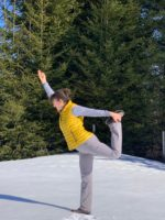 Gisela_dancer in snow