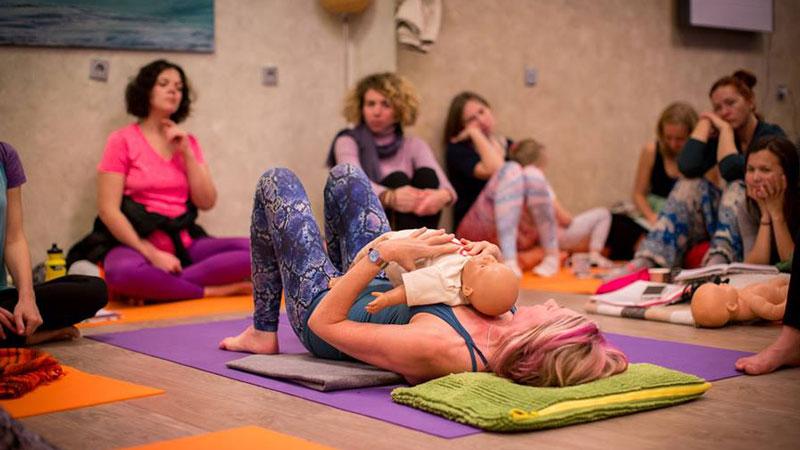 Birthlight postnatal yoga