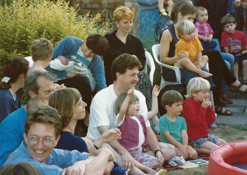 Busy summer birthlight summer parties