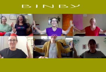 BLENDED TRAINING, ZOOMING & The Future of Baby Massage and Baby Yoga