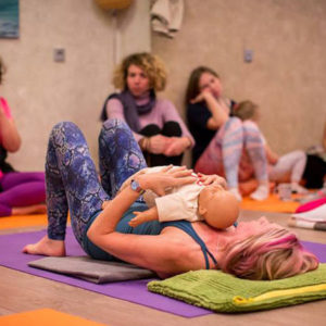 Birthlight postnatal yoga Belinda