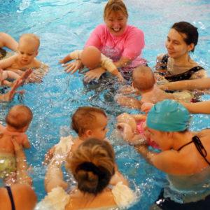 baby swimming gill bann